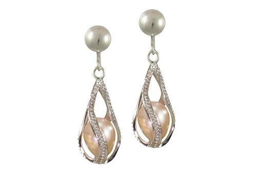 ec61-018-mesmerise-pink-freshwater-pearl-drop-clip-on-earrings