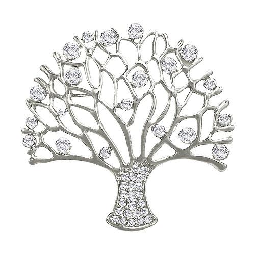 bh44-008-essence-clear-crystal-silver-tone-tree-brooch