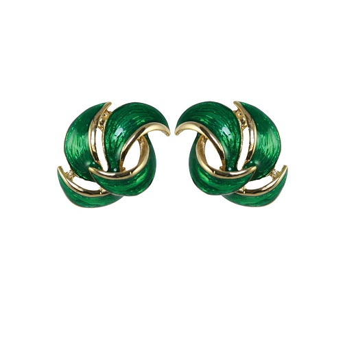 ep31-112-enriched-emerald_and_gold-enamel-pierced-earrings