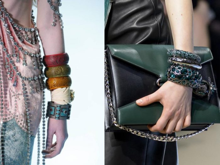 autumn jewellery trends 2018 stacking