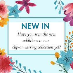 new in clip on earrings