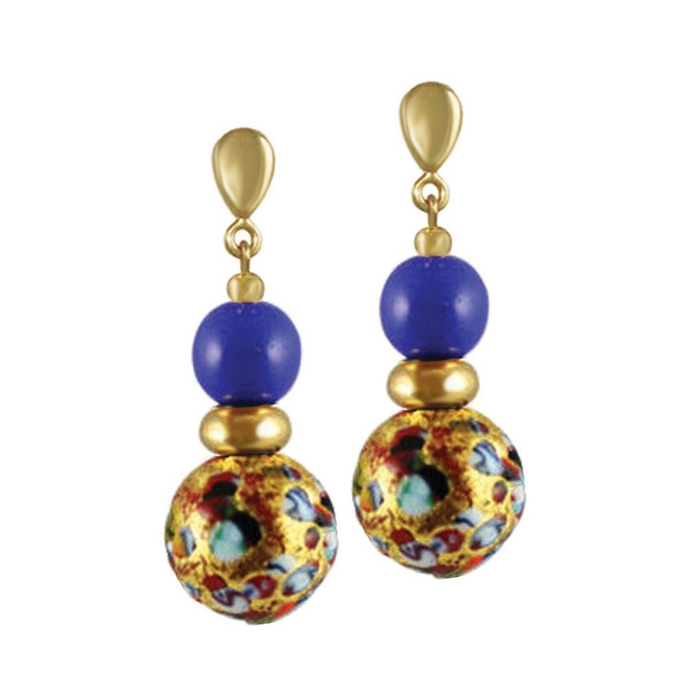 Venetian Blue Murano Glass Chandelier | Murano glass