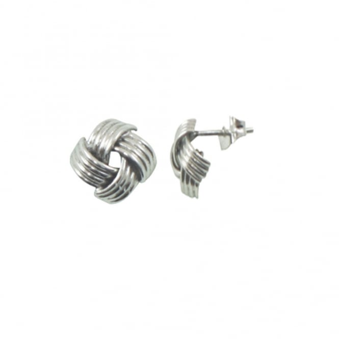 Lana Sterling Silver Stud Pierced Earrings